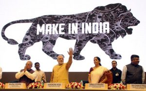 Make in India launch at Vigyan Bhawan